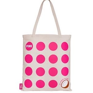 PINK coconut day tote